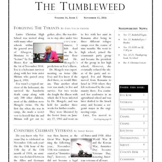 Tumbleweed – Issue 5