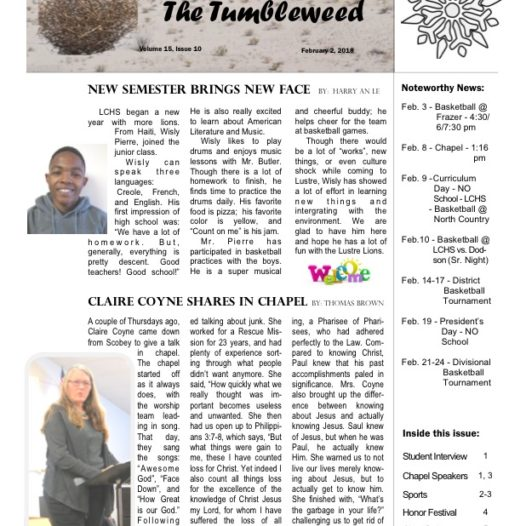 Tumbleweed – Issue 10