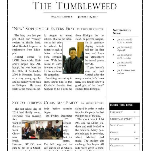 Tumbleweed – Issue 8