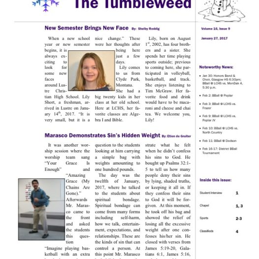Tumbleweed – Issue 9