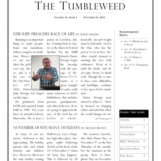 Tumbleweed – Issue 4