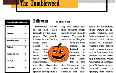 The Tumbleweed – Issue 6
