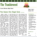 The Tumbleweed – Issue 8