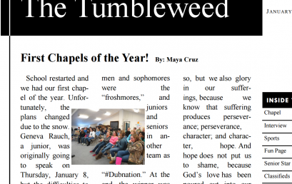 The Tumbleweed – Issue 11