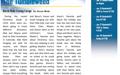 The Tumbleweed – Issue 10