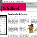 The Tumbleweed – Issue 12
