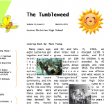 The Tumbleweed – Issue 14
