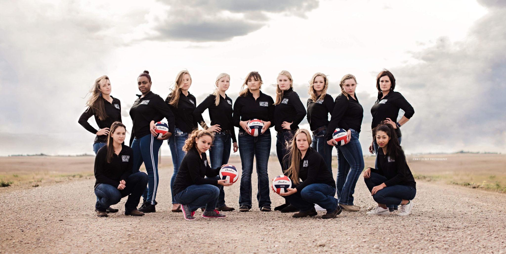 LCHS Volleyball Team
