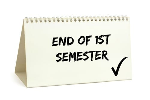 Image result for end of 1st semester
